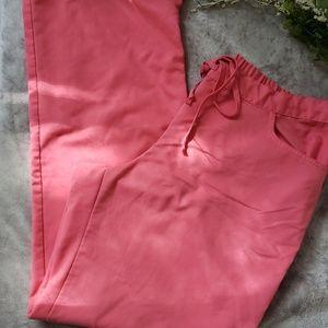 Grey's Anatomy pink scrub pants. Size XLT